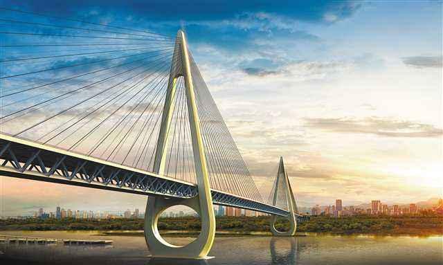 打通大渡口到巴南的交通节点 白居寺大桥配套工程动工建设