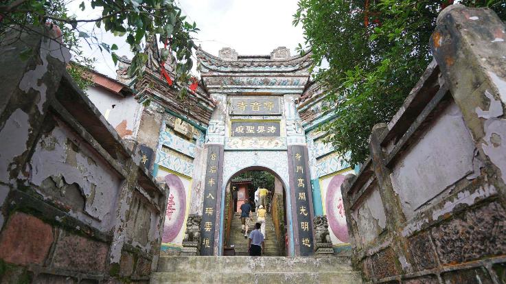 重庆綦江:最美的千年古寺