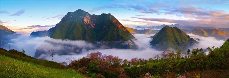 用好特色资源,推动绿水青山就是金山银山实践。李显荣 摄