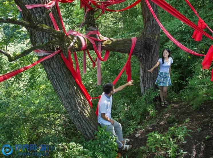 岚天乡是个特色旅游小镇,度假烧烤基地、夫妻树、落红溪……都值得一去! 资料图片