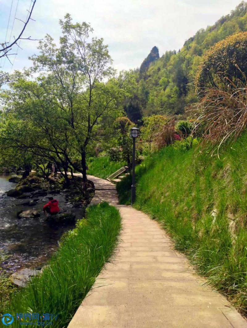 """邂逅北屏!这里生态旅游资源丰富,瓜果满溢、海拔1200米的""""打锣崖""""景区依山傍水,气候宜人是观光旅游、消夏纳凉的绝佳选择。 资料图片"""