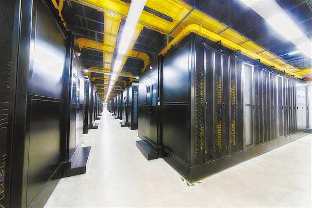 """探秘腾讯西部云计算数据中心——大数据的""""住所""""长啥样"""