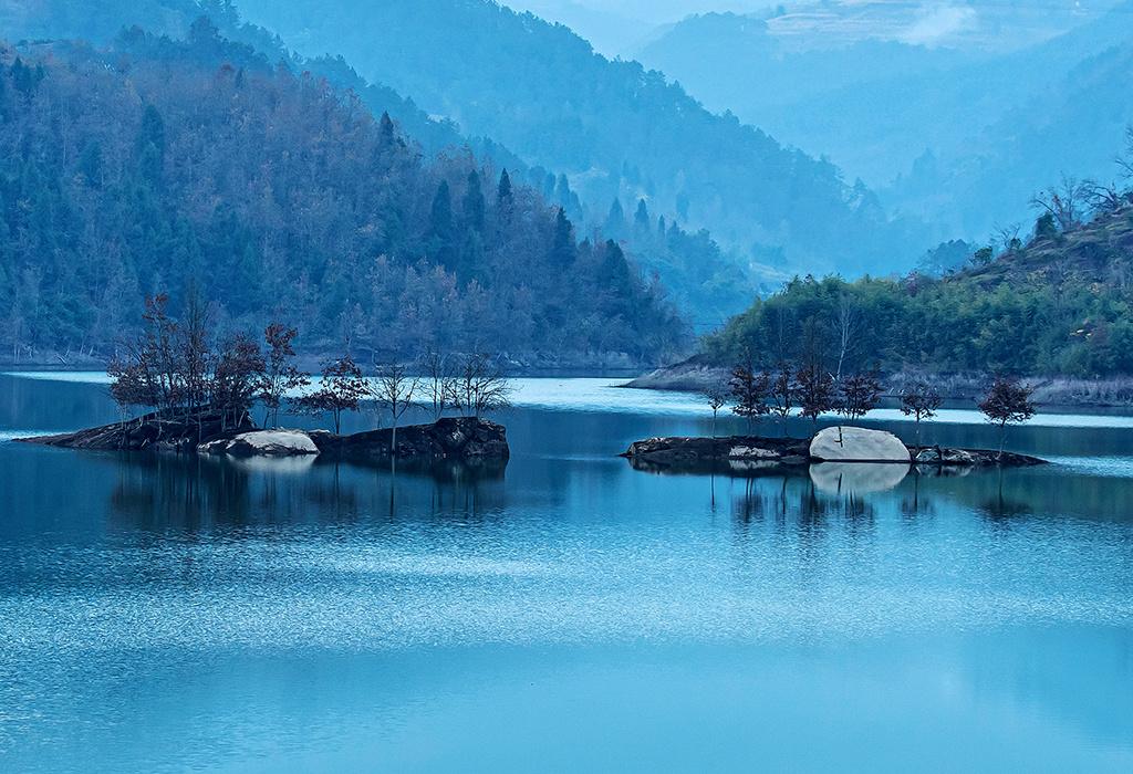 重庆忠县:生态湿地美如画