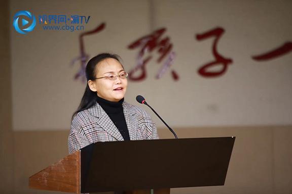 图三南岸区教委副主任朱静萍讲话。张雯理摄.jpg