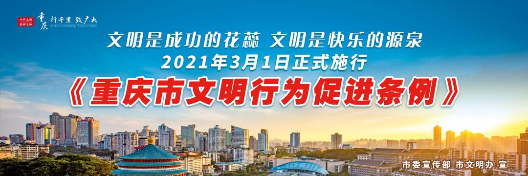 重庆市文明行为促进月