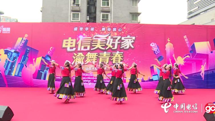 【渝舞青春广场舞】渝北区朗晴舞蹈队《东边草原上》