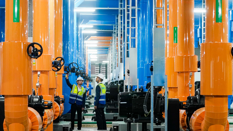 """重庆北碚:首次用""""大数据""""建造厂房动力站"""