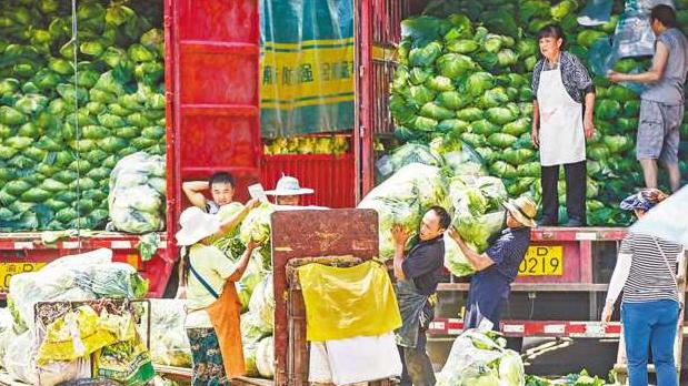重庆:这两大批发市场货源充足