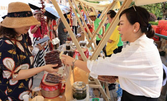 江北区2021年度庆祝中国农民丰收节活动在五宝镇举行