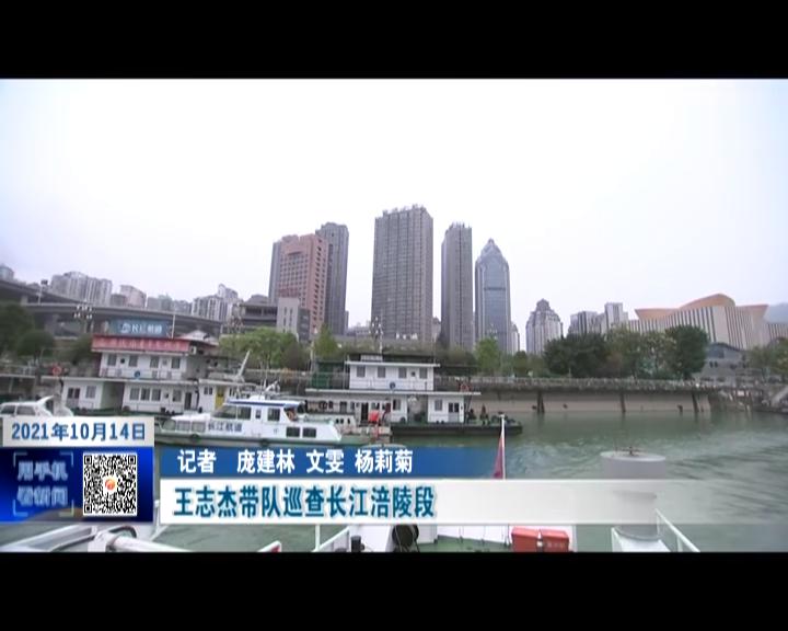 王志杰带队巡查长江涪陵段
